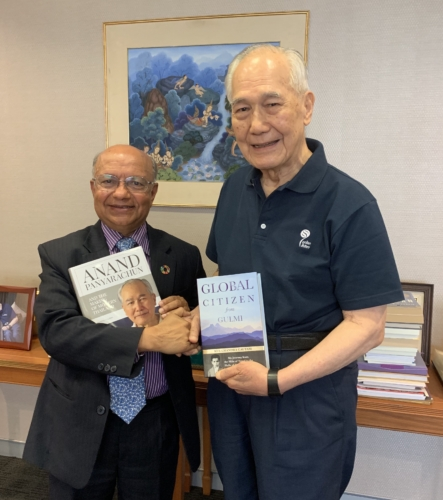 KUL with former Thai Prime Minister Khun Anand Panyarachun